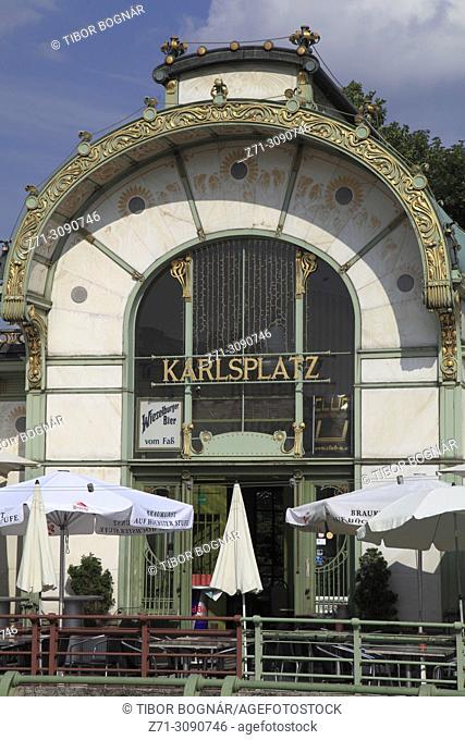 Austria, Vienna, Karlsplatz,