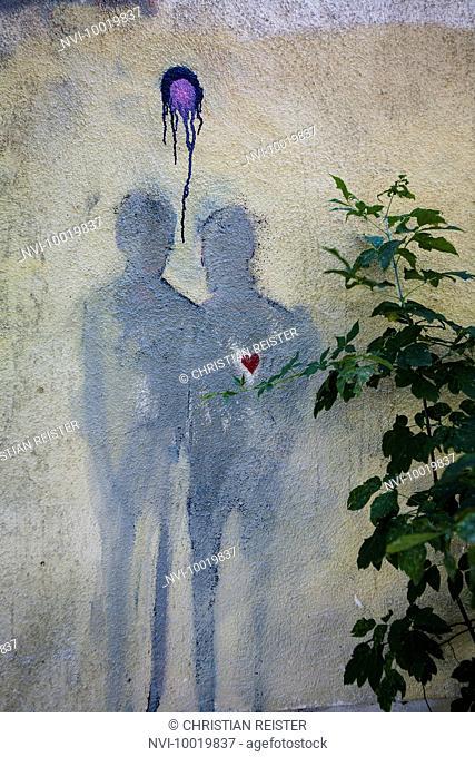Street Art in Berlin, Germany, Europe