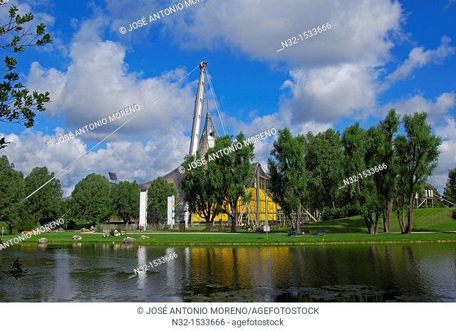Munich, Olympiapark, Olympia Park, Olympic Park, Bavaria, Germany, Europe