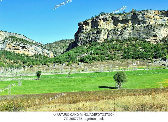 The Sierra of Montsec. Lerida province, Spain