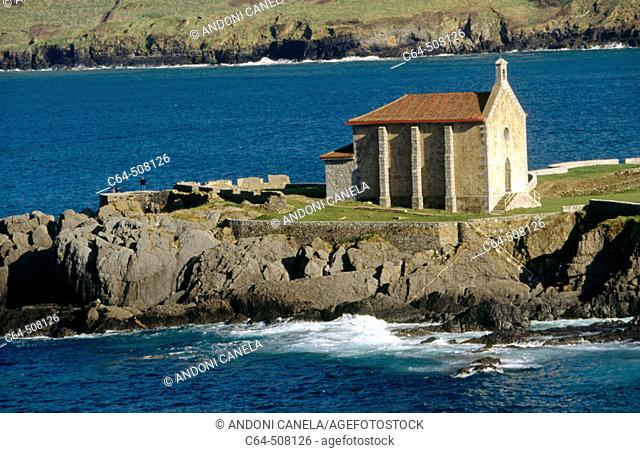 Mundaka, Urdaibai (Gernika estuary) Biosphere Reserve. Biscay, Euskadi, Spain