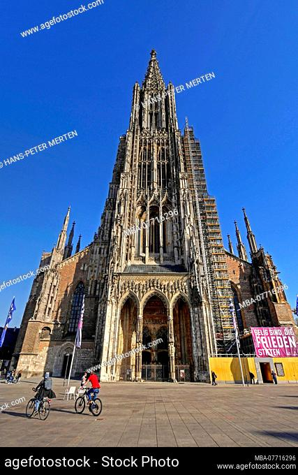 Cathedral in Ulm, Baden-Wuerttemberg, Germany