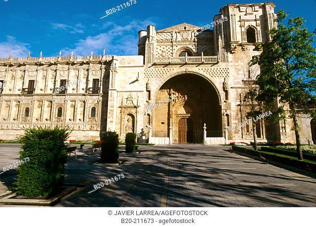 Plaza & Parador San Marcos. León. Castilla y León. Spain