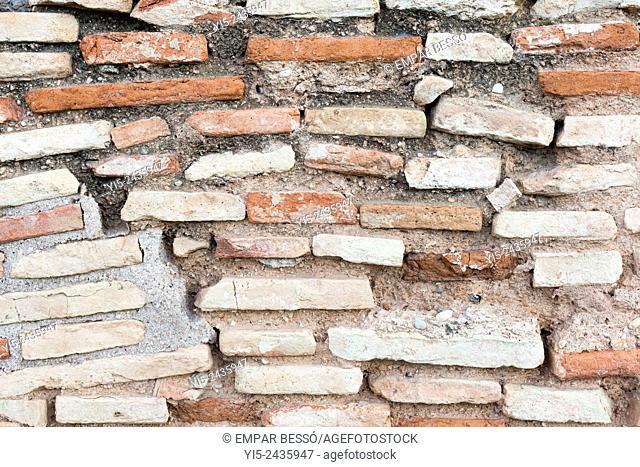 Old wall. Valencia. Spain