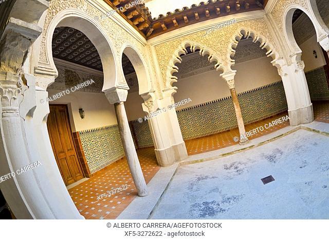 Royal Convent of Santa Clara, 14th Century, Real Monasterio de Santa Clara, Tordesillas, Valladolid, Castilla y León, Spain, Europe