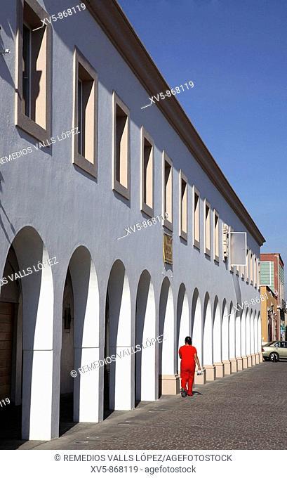 Mexico. Aguascalientes.Colonial city. Venustiano Carranza Street