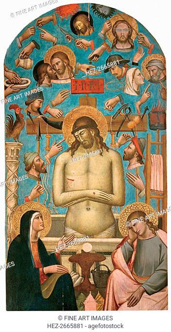 Pieta with the Symbols of the Passion, 1401-1403