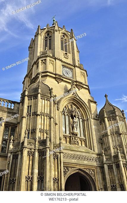 Tom Tower, Christ Church College, Oxford, England, United Kingdom