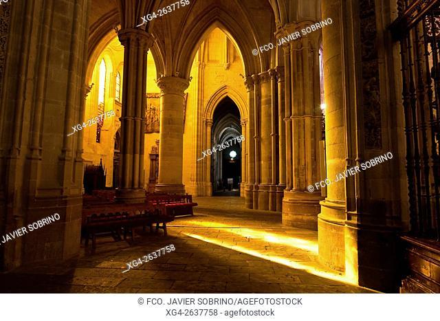 """Interior de la catedral de Santa María y San Julián - Cuenca â. """" Castilla La Mancha â. """" España - Europa"""