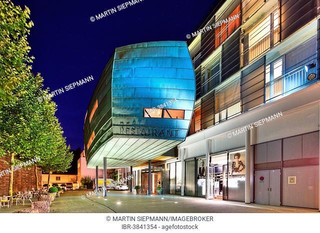 Martinspark Hotel with an extension, Dornbirn, Vorarlberg, Austria