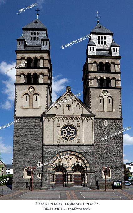 Church of Mayen, district of Mayen-Koblenz, Rhineland-Palatinate, Dutschland, Europe