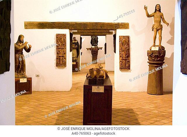 Paraguay. Jesuits Reductions. Museum of Reduction of San Ignacio Guazu ( XVII-XVIII centurys )