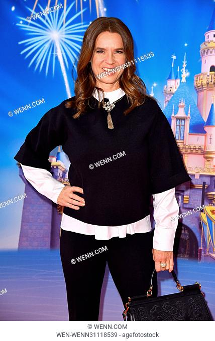 Berlin Premiere of 'Disney on ice' at Velodrom. Featuring: Katarina Witt Where: Berlin, Germany When: 02 Mar 2017 Credit: WENN.com