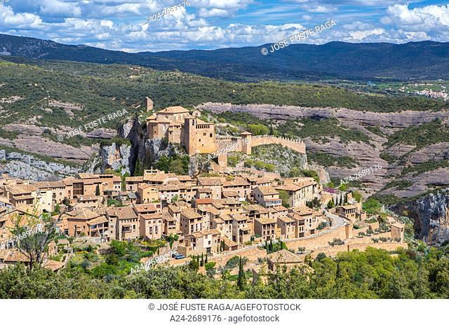 Spain, Huesca Province, Alquezar City, Santa Maria Colegiata