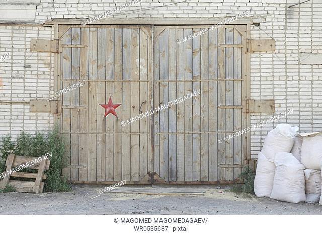 Warehouse Door