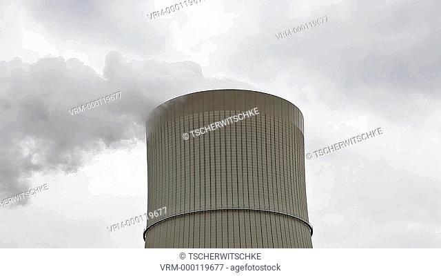 Power plant Schwarze Pumpe, Brandenburg, Deutschland, Europe