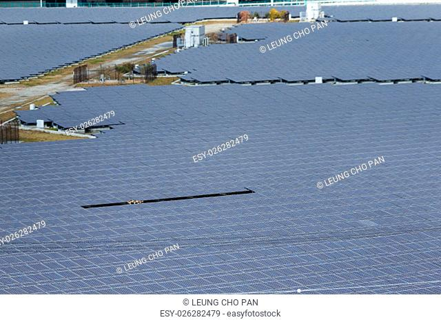 Solar panel in electricity industry