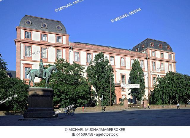Residenzschloss Darmstadt or Darmstaedter Schloss castle, Darmstadt, Hesse, Germany, Europe