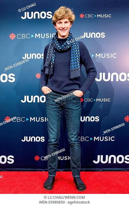 2018 JUNO Awards, held at the Rogers Arena in Vancouver, Canada. Featuring: Jan Lisiecki Where: Vancouver, British Columbia