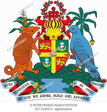 Cote of arms of the State of Grenada