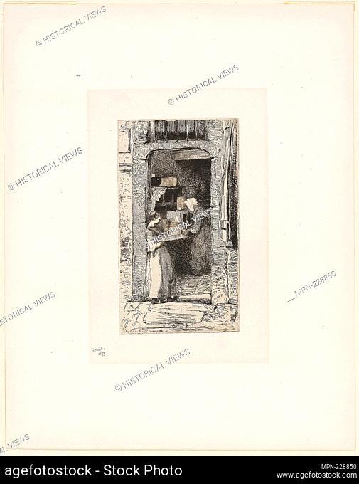 La Marchande de Moutarde (The Mustard Seller) - 1858 - James McNeill Whistler American, 1834-1903 - Artist: James McNeill Whistler, Origin: United States