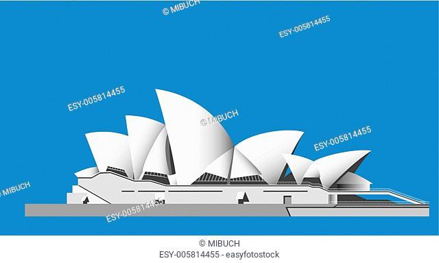 Sydney Opera House - vector