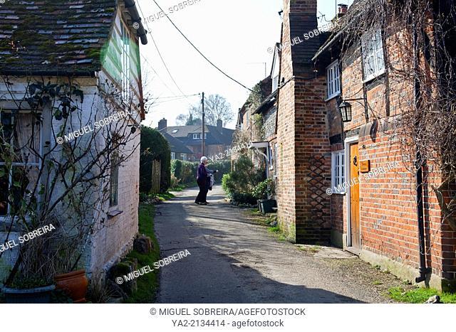 Homes in Turville Village in Buckinghamshire - UK