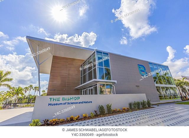 The Bishop Museum of Science and Nature previously The South Florida Museum in Bradenton Florida