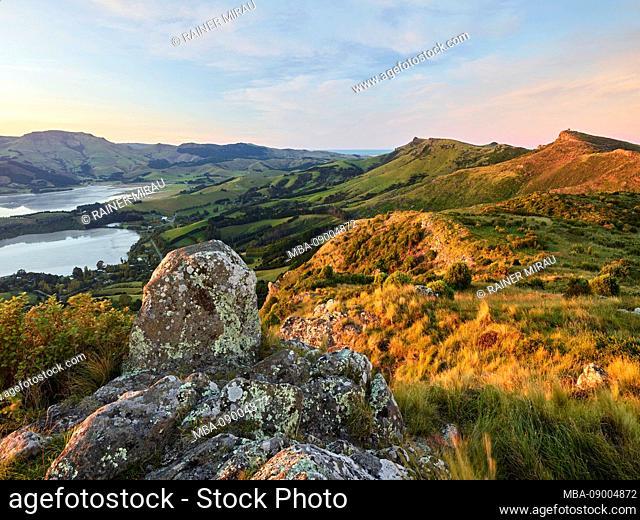 Banks Peninsula, Canterbury, South Island, New Zealand, Oceania