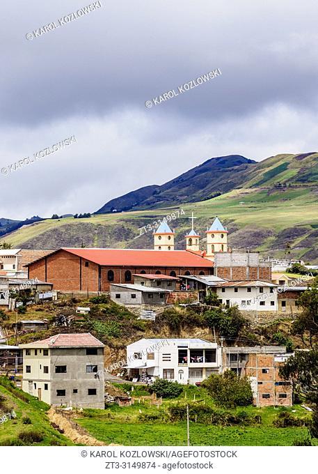 Ingapirca Town, Canar Province, Ecuador