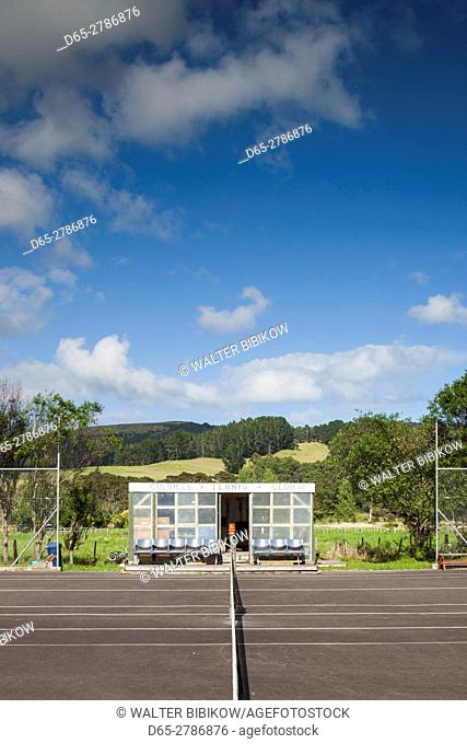 New Zealand, North Island, Coromandel Peninsula, Coromandel Town, Colville, Colville Tennis Club