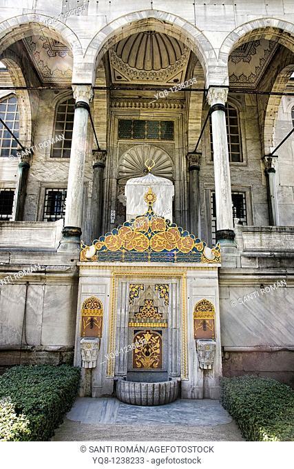 library of ahmet III, topkapi palace museum, Istanbul, Turkey