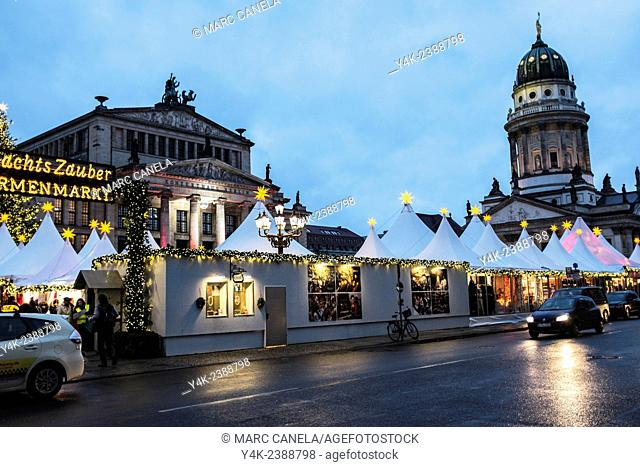 Europe, Germany, Berlin, Many Berliners believe that the Gendarmenmarkt is the most beautiful place in Germany and indeed in all of Europe