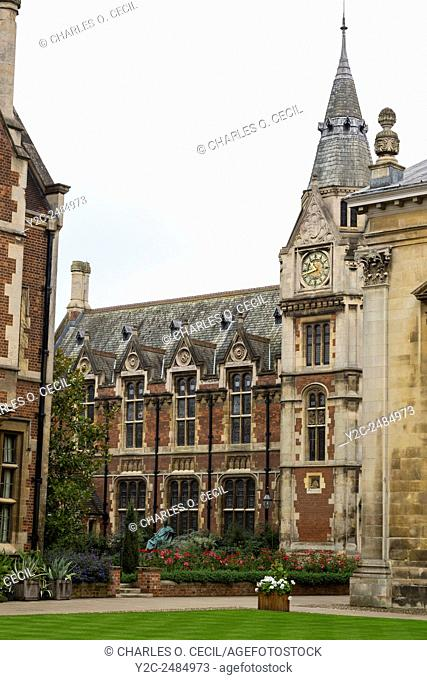 UK, England, Cambridge. Pembroke College