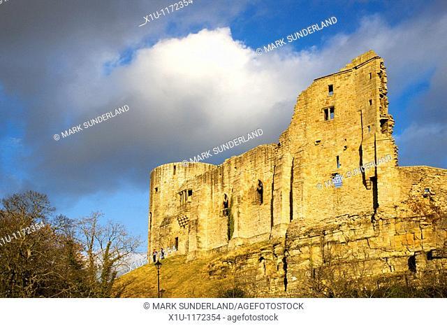 The Castle Ruins Barnard Castle County Durham England