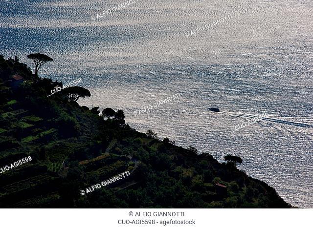 Path of the gods, Sentiero degli Dei, UNESCO World Heritage Site, Amalfi Coast, Positano, Salerno, Campania, Italy