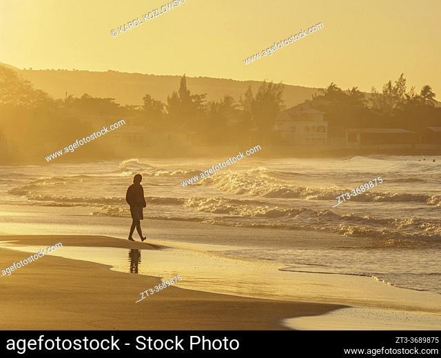 Frenchman's Beach at sunrise, Treasure Beach, Saint Elizabeth Parish, Jamaica