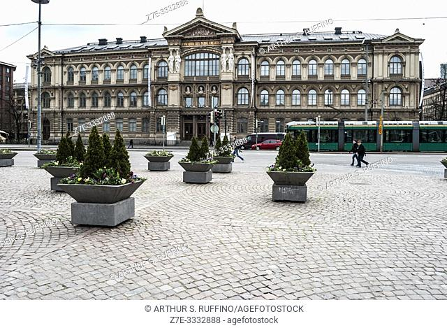 Ateneum building (Art Museum), Helsinki Railway Square, Helsinki, Finland, Europe