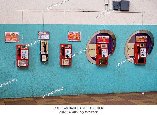Public Phone Boxes in Singapore