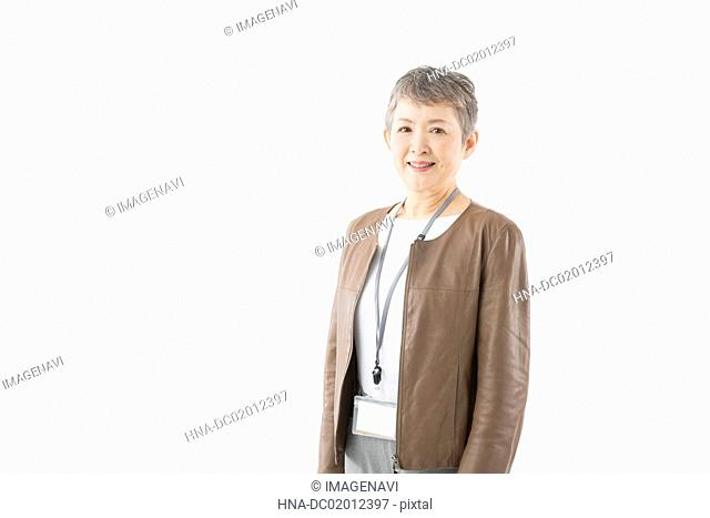 Image of independent senior woman