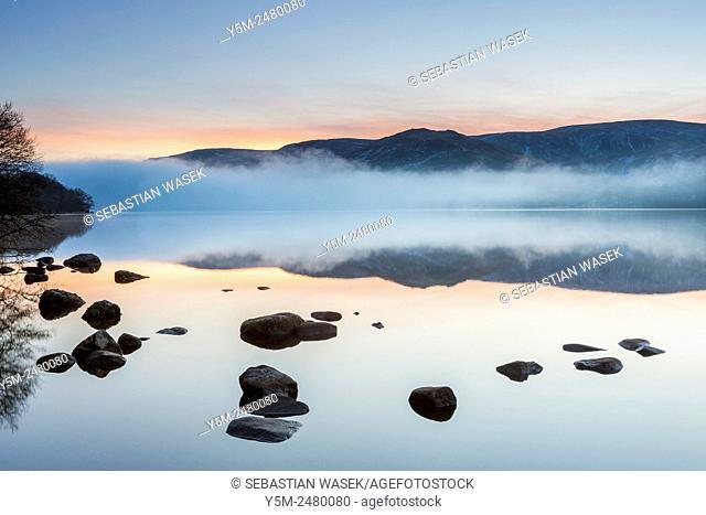 Morning at Ullswater, Lake District National Park, Cumbria, England, United Kingdom, Europe