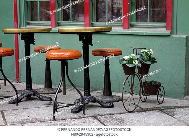 Rue Galande. Paris. France. Europe