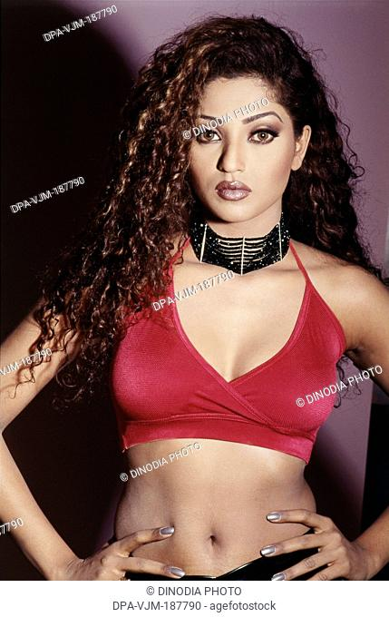 2003, Portrait of Indian film actress and model Suman Ranganathan