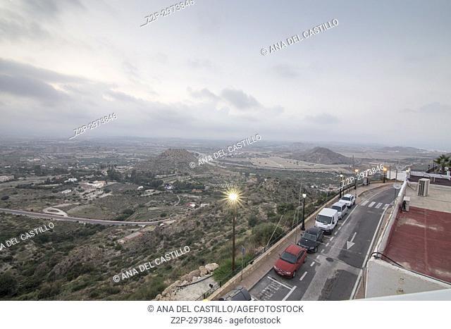 Mojacar white village in, Almeria, Spain