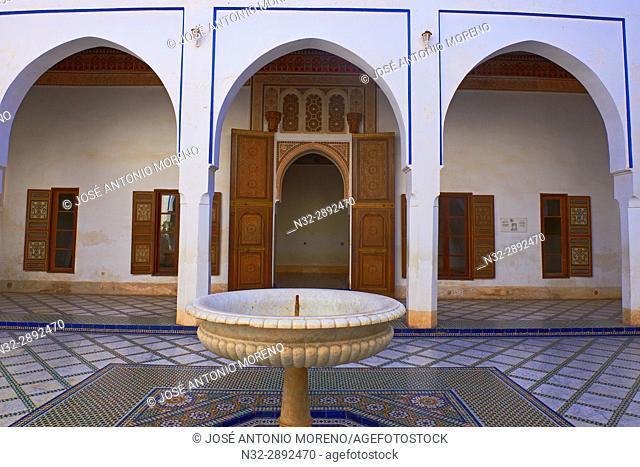 Bahia Palace, Palais Bahia, Marrakech, Morocco