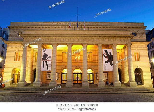 Theatre National de l'Odeon, Paris, France