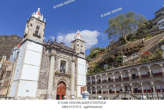 Our Lord of Chalma sanctuary, early 19th century, Chalma, Malinalco, Mexico