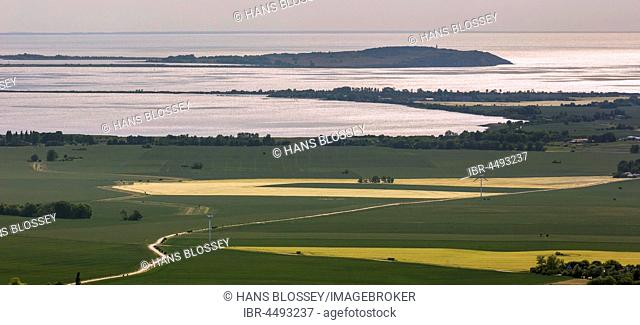 View from Putgarten to the island Hiddensee, Baltic coast, Mecklenburg-Western Pomerania, Germany