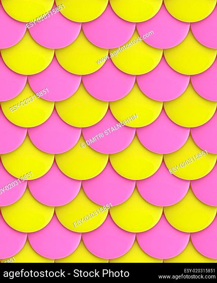 Seamless glossy squama background texture