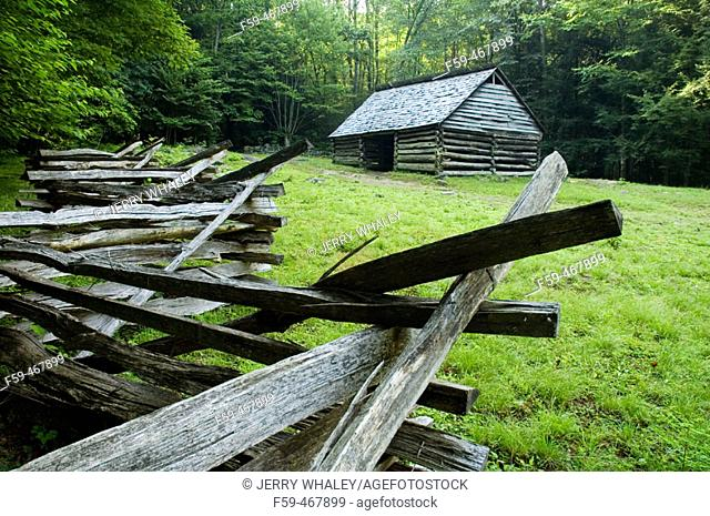 Jim Bales Place, Great Smoky Mtns Nat Park, Tennessee , USA